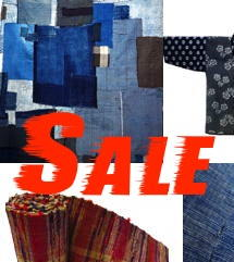 Japanese Folk Textiles Sale