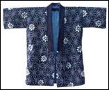 Japanese Shiibori Pattern Noragi Jacket