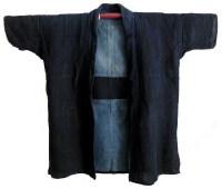 Farmers Solid Indigo Hemp Jacket