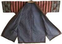 Indigo Sashiko Farmers Jacket