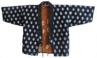 Indigo Sashiko Farmer Jacket