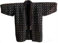 Kasuri Very Detailed Sashiko Farmers Jacket