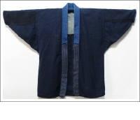 Vintage Indigo Small Pattern Kasuri Jacket