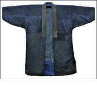 Kasuri Sashiko Boro Jacket