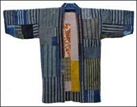 Kasuri Boro Jacket
