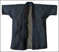 Solid Indigo Sashiko Jacket