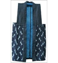 Antique Japanese Indigo Farmers Vest