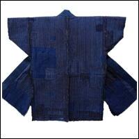 Boro Patchwork Noragi Indigo Farmer Jacket