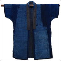 Exceptional Sashiko Lovers Ragged Beauty Farmer Boro Patchwork Noragi Jacket
