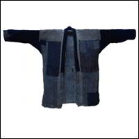 Old Indigo Hemp Handmade Farmer Jacket