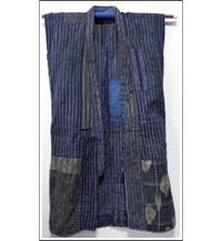 Farmers Indigo Vest  DIY Repair Project