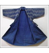 Childs HandMade Kasuri Cotton Kimono