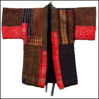 Childs HandMade Boro Patchwork Cotton Kimono