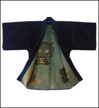 HikeshiBanten SashikoSakiori Hanten Firemans Jacket Late 1800s