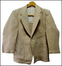 All Natural Hemp Small Vintage Jacket