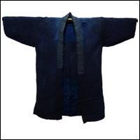Old Indigo Hemp Handmade Farmer Jacket