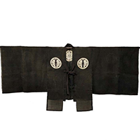Outstanding Shinto Priest Kannushi Hemp Ceremonial Jacket  Shozoku Vestment