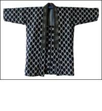 Vintage Kasuri Indigo Jacket DIY Repair Project