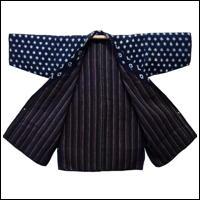 Sashiko Lovers Only Lady Farmers Kasuri Indigo Jacket