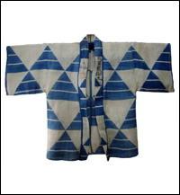 Kyotos Gion Matsuri Hemp Happi Coat Jacket