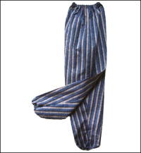 Monpe Cotton Stripe Gardening Pants new