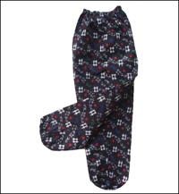 Monpe Cotton Very Dark Indigo Kasuri Gardening Pants new