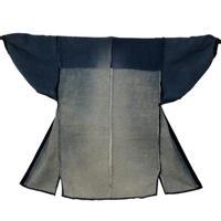 Sashiko Lovers Outstanding Farmers Indigo Cotton Noragi Jacket