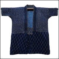 Wonderful Sashiko Solid Indigo Jacket