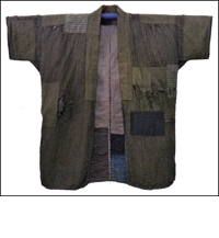 Boro Farmers Sashiko Jacket  DIY Repair Project