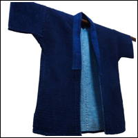 Solid Indigo Farmers Jacket Very Fine Sashiko