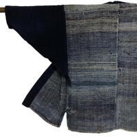 Wonderful Sakiori Noragi Indigo Cotton Farmer Jacket