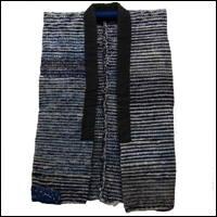 Old Cotton Indigo Handmade Sakiori Vest