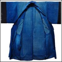 Farmer Indigo Cotton Boro Yogi Garment Liner