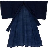 Solid Indigo Cotton Yogi Sleeping Garment Liner