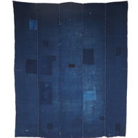 Indigo Cotton Boro Futon Cover