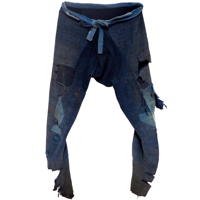 Momohiki Indigo Cotton WorkerLaborer Trousers