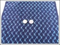 Kasuri Indigo Fabric
