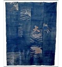 Early Boro Indigo Cotton Futon Cover