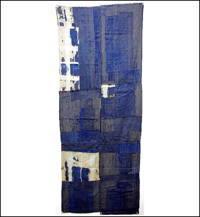 Early Indigo Boro Futon Cover Fragment