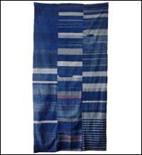 Early Indigo Zanshi Cotton Boro Futon Cover