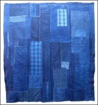 Early Boro Sashiko Futon Cover