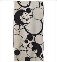 Early Art Deco Cotton Fabric Panel