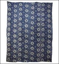 Early Indigo Katazome Cotton Futon Cover