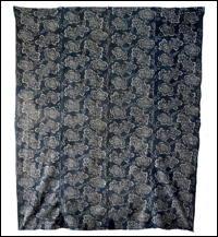 Early Katazome Indigo Cotton Futon Cover