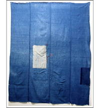 Early Boro Indigo Futon Cover