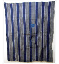Sale Early Indigo Stripe Cotton Futon Cover