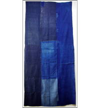 Sale Indigo Patched Cotton Boro Futon Cover