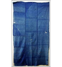 Sale DIY Repair Solid Indigo Cotton Boro Futon Cover