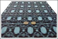 Vintage Kasuri Indigo Cotton Fabric