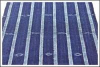 Kasuri Indigo Cotton Textile Panel